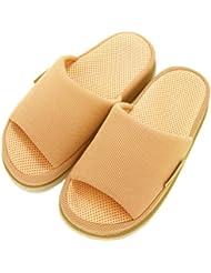 足で癒す リフレクソロジースリッパ リフレ 指の付け根 ベージュ M