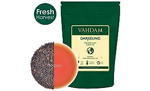 ダージリンティー オーガニック 紅茶 Vahdam teas ワダムティー 茶葉 インド 255g
