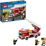 LEGO City Fire Ladder Truck 60107 Playset Toy