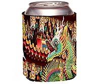 "Rikki Knight RkwS -- 45066""アジアDecorative Chinese Dragonカラフルなドラゴンデザイン"" Beer Can / Soda Drink Cooler"