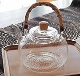 耐熱ガラス土瓶1200m湯沸かしポット