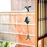 東仙園山細工 伝統工芸 夏の風物詩 風りん  風鈴 手作り おしゃれ 置物 オブジェ 鉄風鈴 鉄 つりがね 鳥