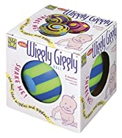 Toysmith Mini Wiggly Giggly Ball (Assorted Colors) [並行輸入品]