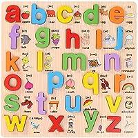 ベビーおもちゃ、子供の教育玩具、脳を発達させる 木製の教育的な形の色の認識のパズル、年齢3のための誕生日のギフトのおもちゃ5歳と子供の子供の赤ん坊の幼児の少女 (サイズ : E)