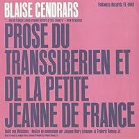 Prose Du Transsiberien Et De La Petite Jeanne De F