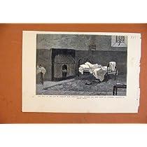 都市 Galsgow の銀行取締役 C1879 の古い印刷物の試験
