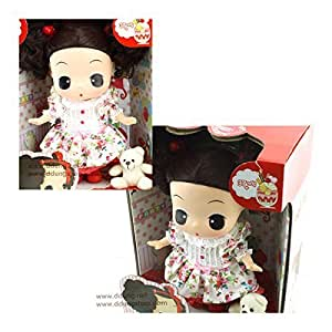 Ddung 25cm Big Doll: Floral Day (Dark Brown / Brunette) by DDUNG [並行輸入品]