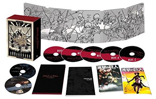 TVアニメ「進撃の巨人」Season1 Blu-ray BOX