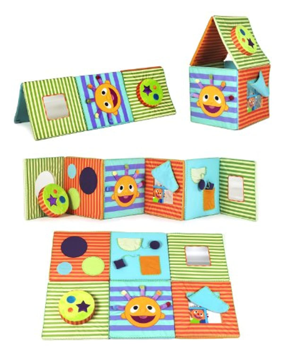 eebee's adventures Playmat and Activity Playhouse by Every Baby Company