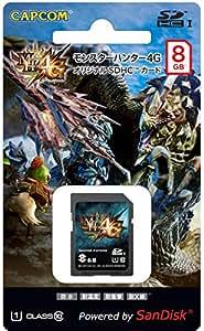 モンスターハンター4G オリジナル SDHCカード(8GB)