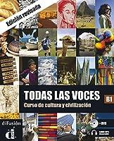 Todas las voces: Libro + audio MP3 descargable + DVD (B1) - revised edition