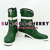 【サイズ選択可】コスプレ靴 ブーツ K-1763 遙かなる時空の中で6 高塚梓 たかつかあずさ 女性25CM