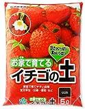 自然応用科学 お家で育てる イチゴの土 5L