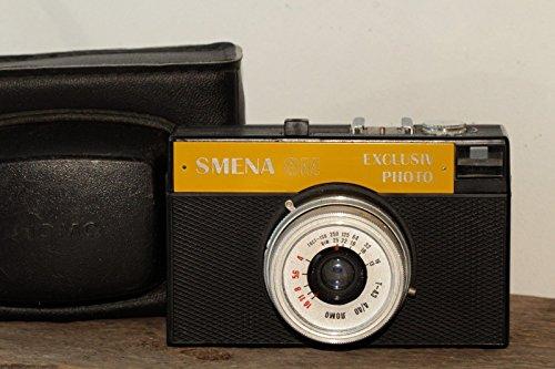 Smena-8M LOMO Russian USSR 35mm Camera YELLOW