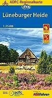 ADFC-Regionalkarte Lueneburger Heide, 1:75.000