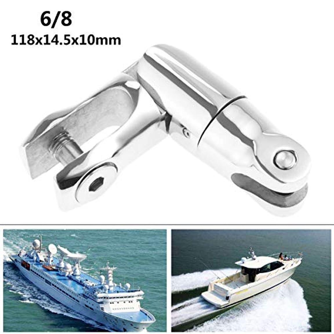 ペインティングオペラ抽象ステンレス鋼6-8チェーンアンカーピンユニバーサルアンカーダブルスイベルジョイント船アクセサリーマリンハードウェア