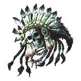 東洋マーク 【INDIO SILVER】 Eternal Darkness Skull's Sticker エターナルダークネス 純正ステッカー R-531