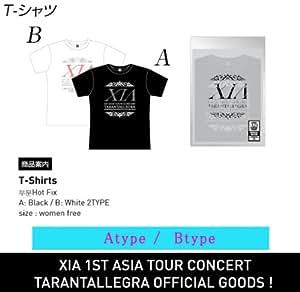 【限定予約】Xia Tarantallegra JYJ ジュンス ASIA TOUR CONCERT 公式応援グッズ【T-シャツ-B:WHITE】