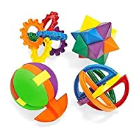 Fun Express Plastic Balls Puzzle (1 Dozen) [並行輸入品]