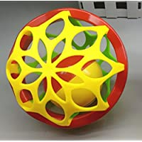 YChoice 可愛い赤ちゃんのおもちゃギフト ベビーラブリープラスチックハンドラトルベル キッズ ベビー おもしろい クローリングトイ ボールギフト