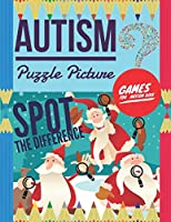 Autism Puzzle Picture: Spot the Difference, Games for Autism Kids,  Hidden pictures for kids, 6 differences between two pictures with answers, Picture Puzzles for children.