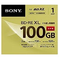 SONY ビデオ用ブルーレイディスク (1枚パック) 日本製 BNE3VCPJ2(BD-RE 3層:2倍速 1枚パック)