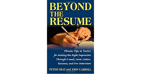 amazon beyond the resume a comprehensive guide to making the