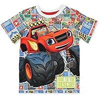 Nickelodeon Blaze and The Monster Machines Boys Tee (Toddler/Little Kid/Big Kid)