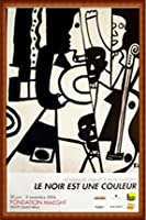 ポスター レジェ Jazz 額装品 ウッドハイグレードフレーム(ナチュラル)