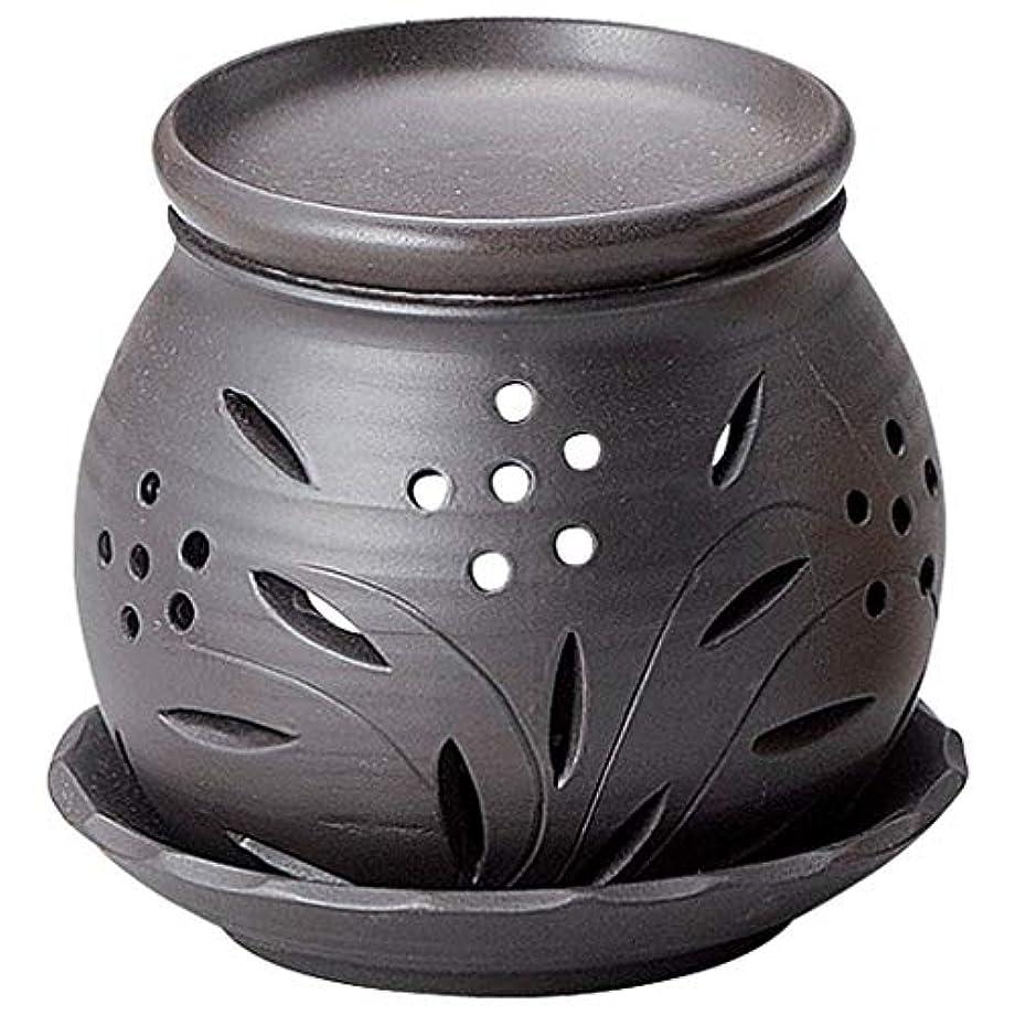 常滑焼 G1705 茶香炉  径13×高さ12cm