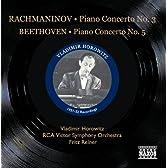 ベートーヴェン:ピアノ協奏曲第5番「皇帝」/ラフマニノフ:ピアノ協奏曲第3番(ホロヴィッツ)(1951-1952)