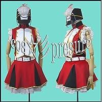 552 【cos-presure】マクロスF 娘フェス ランカ・リー 風衣装★コスプレ