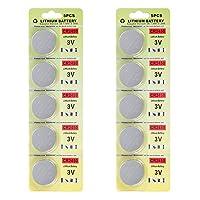 フォーチュンCR 2450 3 Vリチウム電池、おもちゃ計算機のための電子ボタン電池バッテリーLEDライトキャンドル(10 pcs)