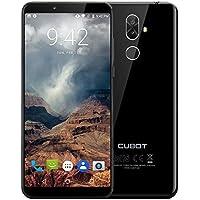Cubot X18 Plus スマートフォン【5.99インチFHD 2160 x 1080 4GB+64GB】4Gスマートフォンアンドロイド8.0 MTK6750T Octa Coreデュアルリアカメラ(20.0MP + 2.0MP) フロントカメラ13.0MP デュアルSIM 指紋認証 4000mAhバッテリー (黒)