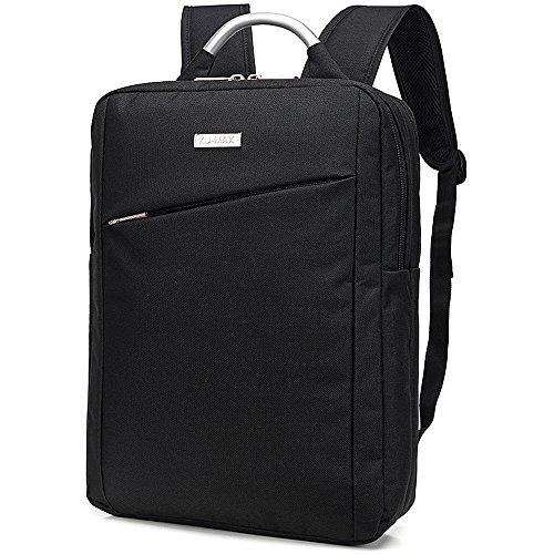 KU-MAX カジュアル シンプル リュックサック 男女兼用 ビジネス 大容量 リュック 軽量 2wayバッグ バッグパック 通勤 PCバッグ KU197-1