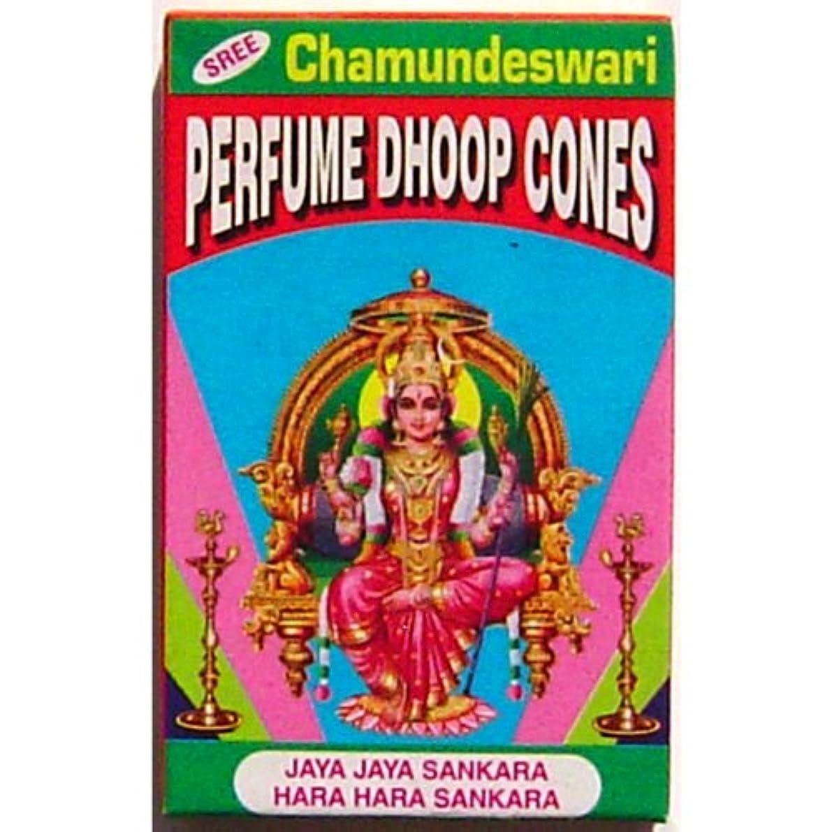 ホイール第砂漠Vedavyasa Dhoop Cones – Sree Chamundeswari – 10 perボックス