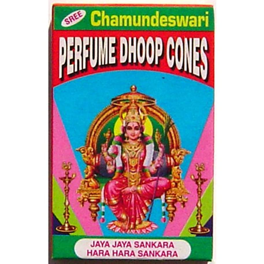 養うドラフト下位Vedavyasa Dhoop Cones – Sree Chamundeswari – 10 perボックス