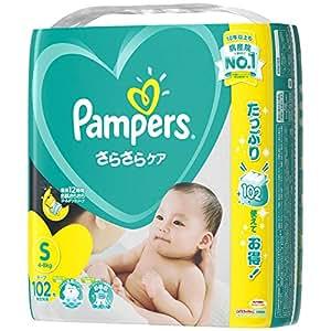 パンパース テープ S(4~8kg) さらさらケア 102枚