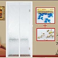 磁気スクリーン ドア蚊,画面ドア メッシュ防風完全フレーム velcro 半透明重い義務メッシュ スクリーン スナップ シャット ダウン自動的に eva 素材-B 80x210cm(31x83inch)