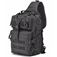 20L Military Tactical Assault Pack Sling Backpack Army Molle Waterproof Rucksack Bag for Outdoor Hiking Camping Hunting