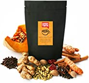 Savoury Tooth Pumpkin Masala Latte - Delicious Hot or Cold - Blend of Pumpkin and Aromatic Spices - Natural an