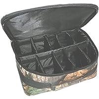 ★迷彩柄リールケース(ベイトリールケース スピニングリールケース  フライリールケース リールバッグ タックルボックス ルアーケース) リールのサイズにより中の仕切りを調整できますので収納・保管・釣行に便利