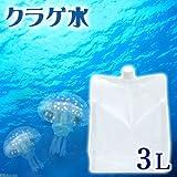 (海水魚)足し水くん 天然海水「クラゲ水」(海洋深層水) 3リットル クラゲ飼育 本州・四国限定[生体]