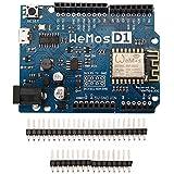 ARCELI WeMos D1 R2 WiFi ESP8266 Development Board Compatible Arduino UNO Program by Arduino IDE