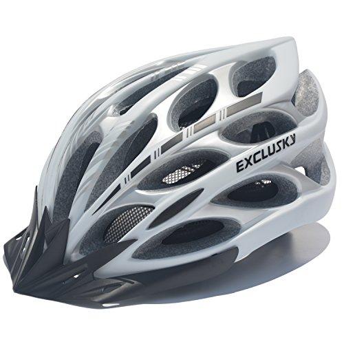 [해외]자전거 헬멧 자전거 헬멧 초경량 선 바이저 포함 (분리형) 일체 성형 남녀 겸용 사이즈 57-62cm Exclusky Mortar/Bicycle helmet Cycling helmet with super lightweight sun visor (removable) Integral molding unisex dress size 57 - 62 cm Excl...