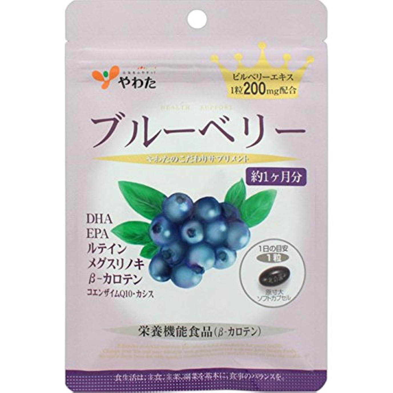 値する医薬品バウンス八幡物産 ブルーベリー 30粒