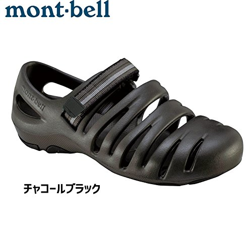 montbell キャニオンサンダル 〔男女兼用 シューズ サンダル〕 (チャコールブラック):1129392