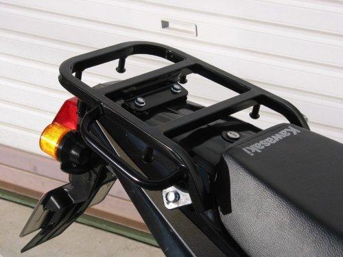 ライディングスポット(RIDING SPOT) リアキャリア スチール製 195×223mm ブラック KSR110(-10)