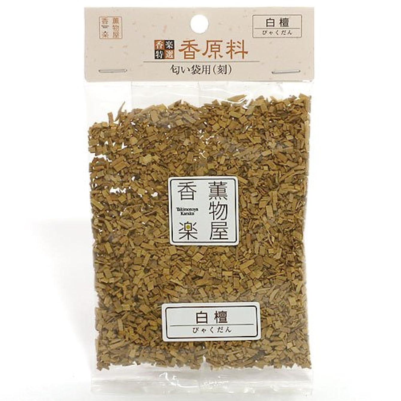 あえぎ船酔い影響する天然香原料?刻白檀(びゃくだん)