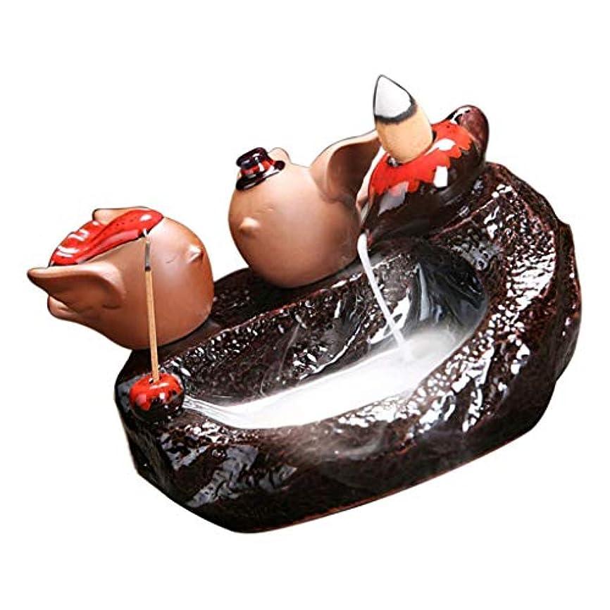 最愛の袋ガジュマルFutuHome パープルクレイ 香炉 アロマストーブ アロマセラピー クリスマススタイル - E
